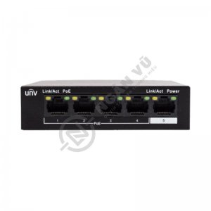 Switch PoE Uniview NSW2010-5T-POE-IN